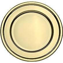 MOZAIK 4oro plástico plato redondo de Batería (30cm)