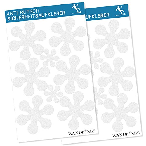 Wandkings Antirutsch-Sticker 16 Blumen