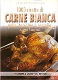 Scarica Libro 1000 ricette di carne bianca pollo tacchino e coniglio (PDF,EPUB,MOBI) Online Italiano Gratis