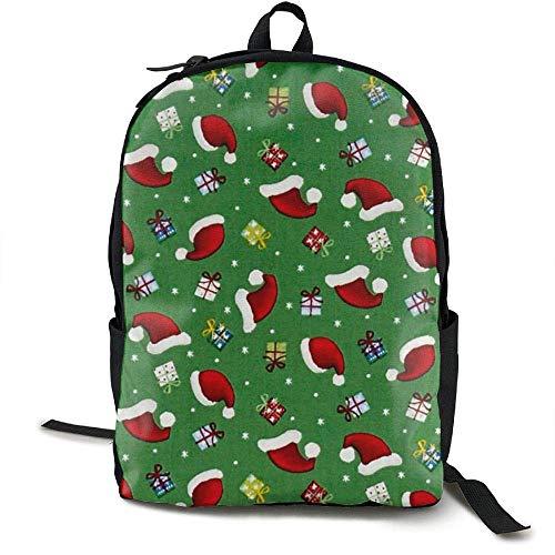HOJJP Schultasche Santa's Little Helpers Hats & Gifts Santas Helper Outfit