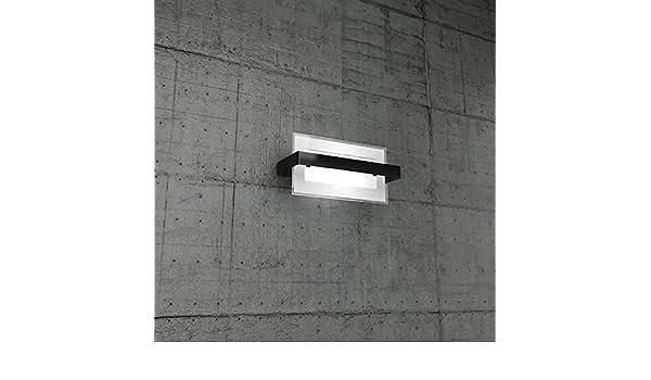 Applique a muro piccola kors p lampada parete moderna nera design