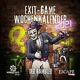 homunculus Exit-Game-Kalender 2021: Der Gambler. Der Tischkalender mit spannenden Rätseln für Jede Woche im Jahr