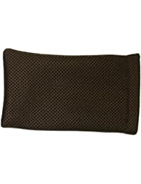 brown Mesh Slip-in Spongy Sunglasses Spectacles Glasses Pouch Case