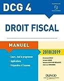 Lire le livre DCG Droit fiscal 2018/2019-12e gratuit