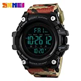Easy Go Shopping Sportuhr Military Camouflage Mode Herren Elektronische Uhr Multifunktions-Countdown Student LED Watch (Color : 1)