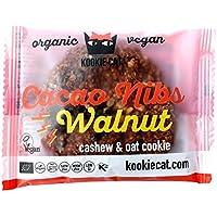 Kookie Cat | Cacao Nib & Walnut Cookie | 12 x 50g
