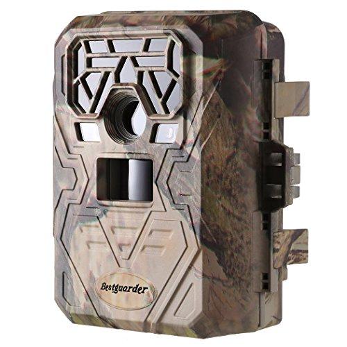 Wildkamera Jagdkamera 1080P 12MP No-Glow GPS Infrarot Fotofalle 23m Nachtsicht IP66 Wasserdichte Jagdzeug Überwachungskamera