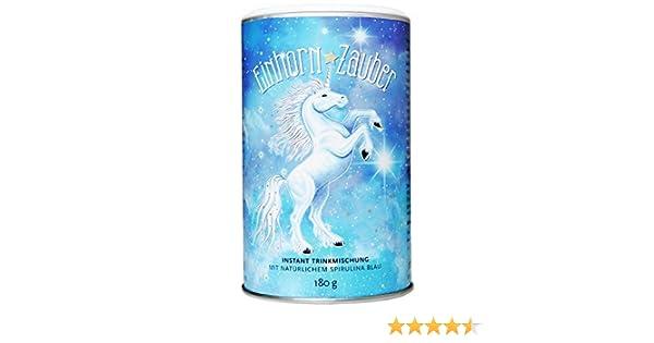 Einhorn-Zauber, Magisch blaue Trinkmischung, 180g (1): Amazon.de ...