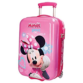 Disney Minnie Fabulous Equipaje Infantil, 50 cm, 26 Litros, Rosa