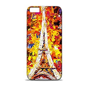 ezyPRNT Eiffel Tower Painting Printed back Cover for Apple iPhone 5