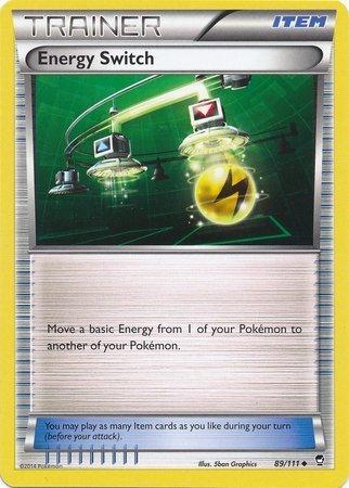 Pokemon - Energy Switch (89/111) - XY Furious Fists - Reverse Holo by Pokemon USA, Inc. (Pokemon Switch Energy)