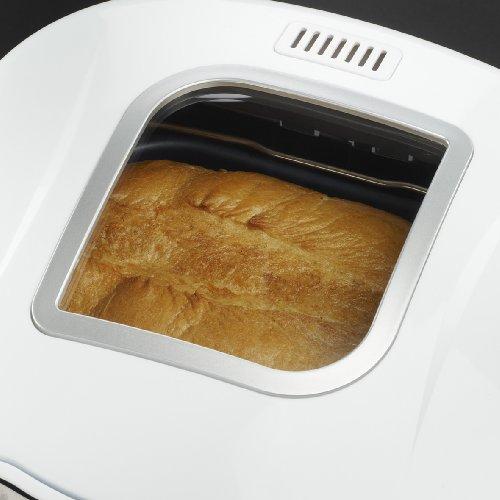 Russell Hobbs 18036-56 Classics - Panificadora rápida, control ajustable de la corteza: blanca, normal, tostada, pantalla LCD, 12 funciones programables, sin BPA