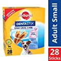 Pedigree Dentastix, Dental Care Dog Treat for Adult Small Breed(5-10kg) Dogs