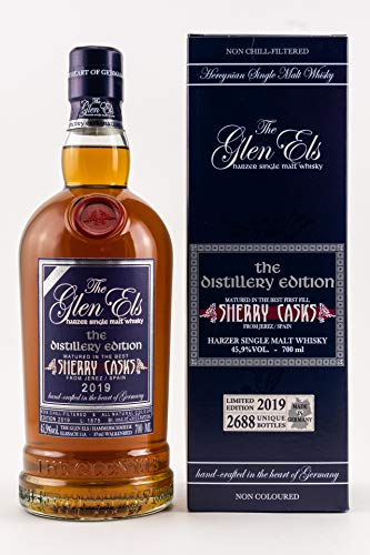 The Glen Els The Distillery Edition 2019 Whisky 100% Sherry Cask Matured 0,7 L