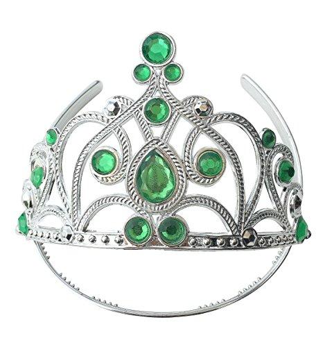 La Señorita Elsa Frozen Fever Tiara Krone für Mädchen Eiskönigin Grün