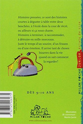 Histoires pressées, Tome 01