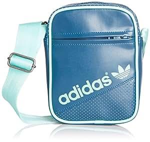 Adidas Mini-sac à bandoulière Bleu Tribe S14/vert menthe Bahia S14 Taille unique