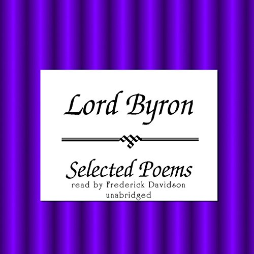 Lord Byron: Selected Poems  Audiolibri