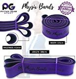 Physix Gear Pull Up Assist Bands - Best Heavy Duty Resistance Band for Assisted Pullups, Muscle Toning, Legs Glutes Crossfit Physical Therapy Stretch Pilates & Yoga - Improve Mobility & Strength -4SET - 2