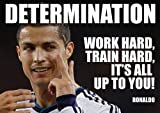 Cristiano Ronaldo 7 - Motivation - world player of the year - footbal - Real Madrid - A3 poster