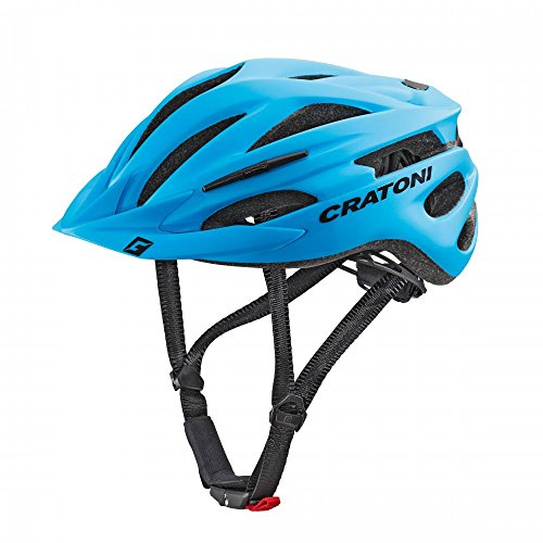 Cratoni Pacer+ Fahrradhelm, Blue Matt, S-M