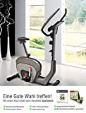 Sportstech ES400 Ergometer Heimtrainer - Smartphone APP Steuerung - 10kg Schwungmasse - Bluetooth - Pulsmesser - Hometrainer mit Magnetbremssystem - Fahrrad-Trainer - Fitness-Bike - Tablethalterung Test