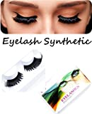 Imstyle Synthetic False Eyelashes Natural Looking Drag Queen Eye Lashes for Party Makeup (X13)