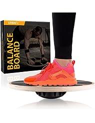 Tabla de Equilibrio – Entrenamiento para el Núcleo Hecho de Madera – Aumenta tu Equilibrio, Fuerza y Flexibilidad