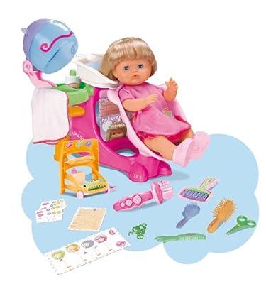 Famosa Nenuco Peluqueria mágica - Set de peluquería para muñecos Nenuco con 1 muñeca y accesorios de FAMOSA