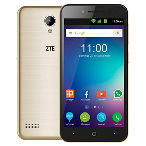 ZTE Blade A520 - Smartphone de 5' (WiFi, Ouad-Core Arm Cortex-A53 MPCore, 1 GB de RAM, Memoria Interna de 4 GB, cámara...