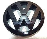 BRAND NEW BLACK GLOSS VW GOLF MK5 Front Bumper Badge...