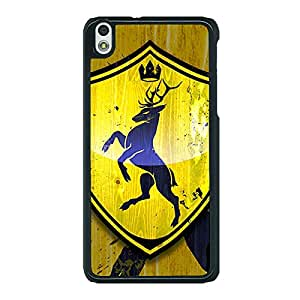 Jugaaduu Game Of Thrones GOT House Baratheon Back Cover Case For HTC Desire 816G