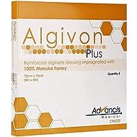 Preisvergleich für ALGIVON Alginat Plus Manuka-Honig-Alginat-Wundauflage, 10x 10cm
