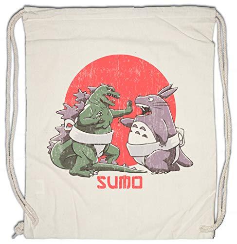 Urban Backwoods Sumo Monsters Turnbeutel Sporttasche -
