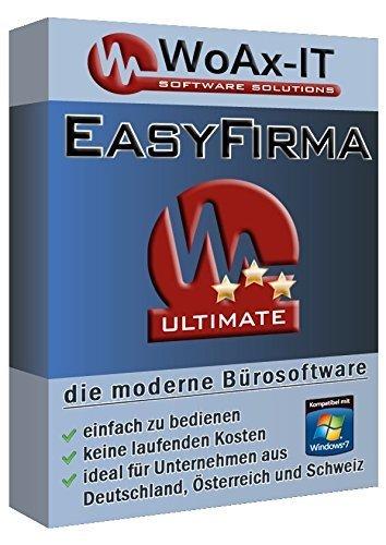 EasyFirma Komplettpaket - Rechnungsprogramm, Bürosoftware, Faktura, Rechnungen, Angebote, Ausgaben