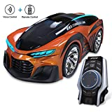 Voice Contral Car Toy for Kids, Smart DIY Commend Intelligent Remote Watch Controller