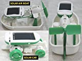 #6: 6 IN 1 EDUCATIONAL SOLAR ROBOT ENERGY KIT SCIENCE SCHOOL PROJECTS FOR KIDS