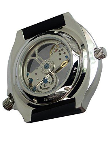 Tauchmeister XL Stainless Steel Automatik Uhr mir Saphir Glas T0310
