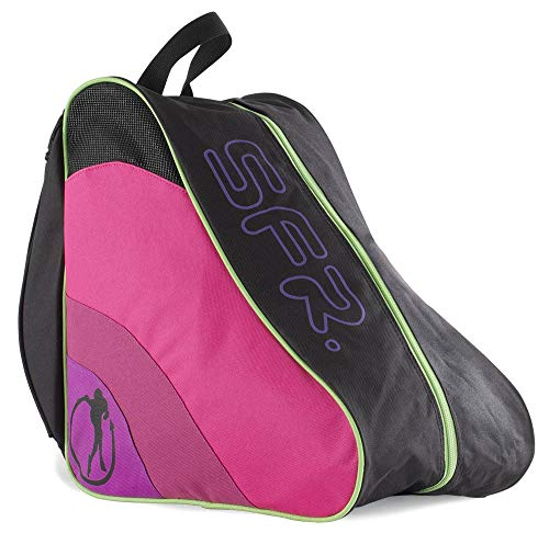 Sfr Skates Unisex-Erwachsene SFR Ice & Skate Bag II Stofftasche, Mehrfarbig (Disco), 24x15x45 centimeters (Inline Skate Bag)
