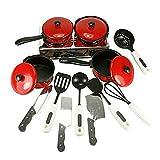 PIXNOR Kinder Kochgeschirr Küchenspielzeug