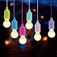 Lampade LED Lamp, Lamps Lanterna da campeggio, Vanow Portable 6 pezzi Light per escursionismo, pesca, scrivania, campeggio, tenda, giardino, barbecue o semplicemente come lampada decorativa a batteria