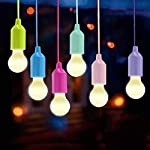 Lamping LED Leuchte, Lampen Camping Laterne ,Vanow Tragbare 6 Stück Licht für Wandern, Angeln, Schreibtisch, Camping, Zelt, Garten, BBQ oder einfach als dekorative Lampe Batteriebetrieben