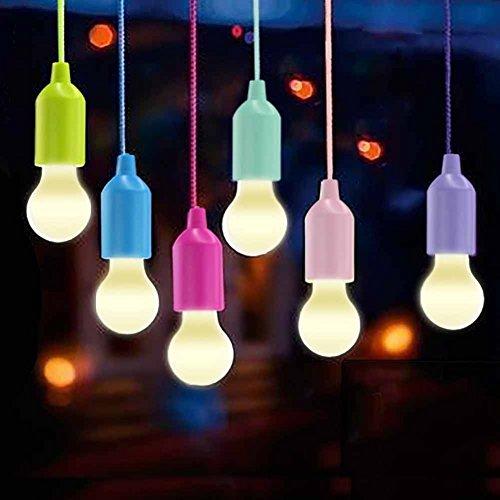 Lamping LED Leuchte, Lampen Camping Laterne,WEBSUN Tragbare 6 Stück Licht für Wandern, Angeln, Schreibtisch, Camping, Zelt, Garten, BBQ oder einfach als dekorative Lampe Batteriebetrieben - Schreibtisch Höhe Bar