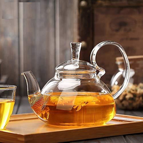 SGXDM Tee-Set Glas kreativer Hochdruck-Drüsen-Topf Kung Fu Tee-Set, 800ML -