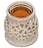 Best Aura Cacia Aroma Diffusers - SouvNear 7.6 Cm Tealight Oil Diffuser/Burner with Detachable Review
