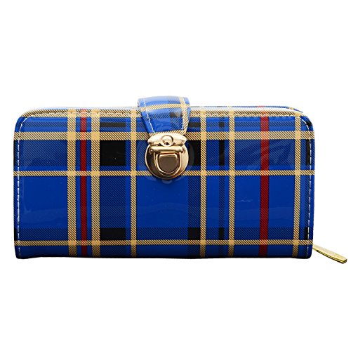 Bagaholics Ladies Purse Girls Wallet Hand Clutch Gift for Women (Dark Blue)  available at amazon for Rs.275