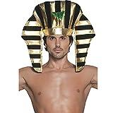 Smiffys Déguisement Homme, Coiffe de pharaon, 30284