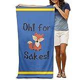 fjfjfdjk OH for Fox Sake Adults Cotton Beach Towel 31