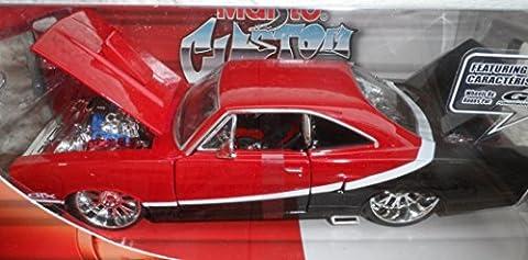 Modèle de voiture 1970Plymouth GTX 701: 24Maisto 31016Pro Rodz