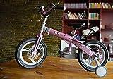 Kinder-Fahrrad, Fahrrad männlich 3-6 Jahre alt Teleskop Jungen und Mädchen 2-4 Jahre alt Berg Baby Wagen Baby Bike ( Farbe : Pink , größe : 12 inch )